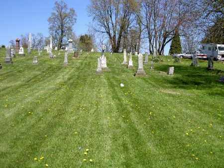 OVERVIEW, ST. THOMAS - Muskingum County, Ohio   ST. THOMAS OVERVIEW - Ohio Gravestone Photos