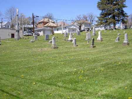OVERVIEW, ST. THOMAS - Muskingum County, Ohio | ST. THOMAS OVERVIEW - Ohio Gravestone Photos