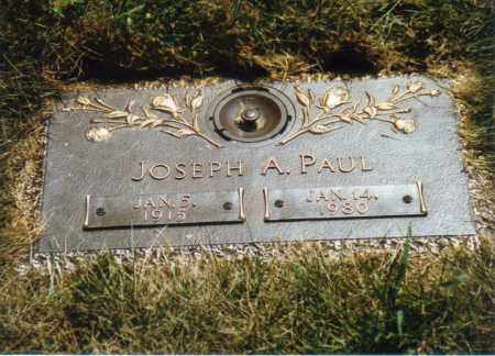 PAUL, JOSEPH A. - Muskingum County, Ohio | JOSEPH A. PAUL - Ohio Gravestone Photos