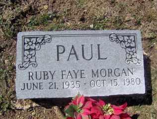 PAUL, RUBY FAYE - Muskingum County, Ohio | RUBY FAYE PAUL - Ohio Gravestone Photos