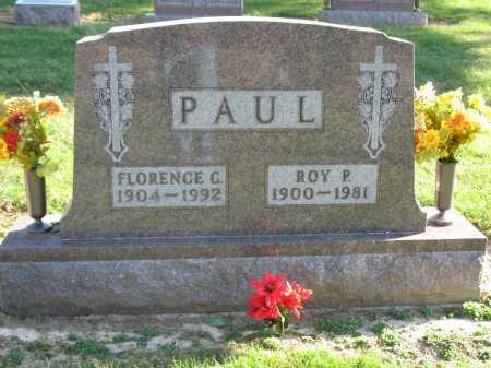 PAUL, ROY P. - Muskingum County, Ohio | ROY P. PAUL - Ohio Gravestone Photos