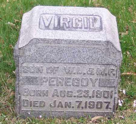 PEREGOY, VIRGIL - Muskingum County, Ohio | VIRGIL PEREGOY - Ohio Gravestone Photos
