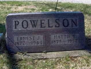 POWELSON, HATTIE E - Muskingum County, Ohio | HATTIE E POWELSON - Ohio Gravestone Photos