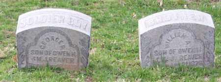 REAVER, WILLIAM A. - Muskingum County, Ohio   WILLIAM A. REAVER - Ohio Gravestone Photos