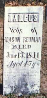 REDMAN, DORCUS - Muskingum County, Ohio | DORCUS REDMAN - Ohio Gravestone Photos
