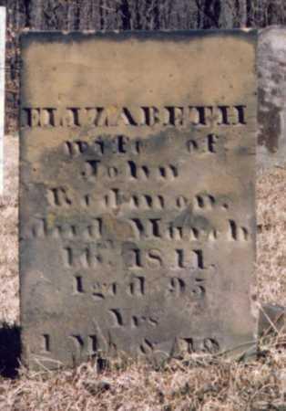 REDMAN, ELIZABETH - Muskingum County, Ohio | ELIZABETH REDMAN - Ohio Gravestone Photos