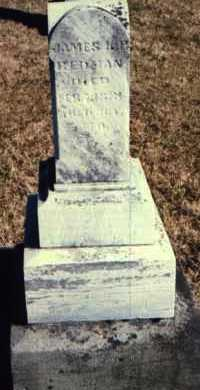 REDMAN, JAMES K. POLK - Muskingum County, Ohio | JAMES K. POLK REDMAN - Ohio Gravestone Photos