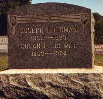 REDMAN, JOSEPH THOMPSON - Muskingum County, Ohio | JOSEPH THOMPSON REDMAN - Ohio Gravestone Photos