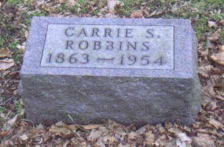 ROBBINS, CARRIE - Muskingum County, Ohio   CARRIE ROBBINS - Ohio Gravestone Photos