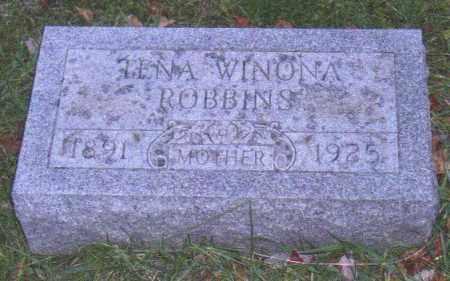 ARTER ROBBINS, TINA WINONA - Muskingum County, Ohio   TINA WINONA ARTER ROBBINS - Ohio Gravestone Photos