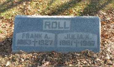 ROLL, FRANK A. - Muskingum County, Ohio | FRANK A. ROLL - Ohio Gravestone Photos