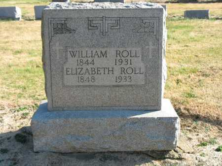 ROLL, ELIZABETH - Muskingum County, Ohio | ELIZABETH ROLL - Ohio Gravestone Photos