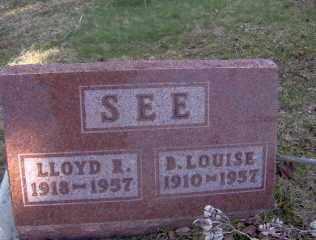 SEE, LLOYD R - Muskingum County, Ohio | LLOYD R SEE - Ohio Gravestone Photos