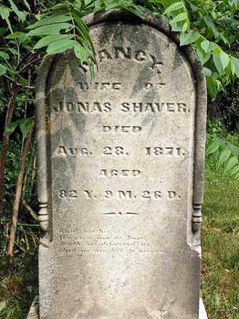 SHAVER, NANCY - Muskingum County, Ohio | NANCY SHAVER - Ohio Gravestone Photos