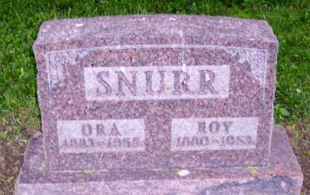 SNURR, ROY - Muskingum County, Ohio | ROY SNURR - Ohio Gravestone Photos