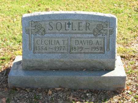 SOLLER, CECILIA T. - Muskingum County, Ohio | CECILIA T. SOLLER - Ohio Gravestone Photos