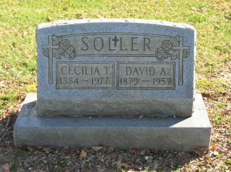 SOLLER, DAVID A. - Muskingum County, Ohio | DAVID A. SOLLER - Ohio Gravestone Photos