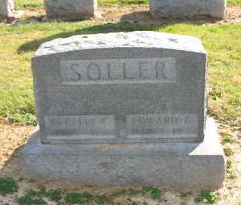 SOLLER, EDWARD G. - Muskingum County, Ohio | EDWARD G. SOLLER - Ohio Gravestone Photos