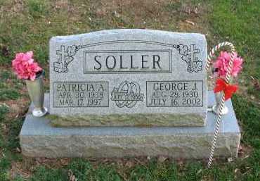 SOLLER, GEORGE - Muskingum County, Ohio | GEORGE SOLLER - Ohio Gravestone Photos