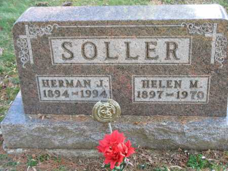 SOLLER, HELEN M. - Muskingum County, Ohio | HELEN M. SOLLER - Ohio Gravestone Photos