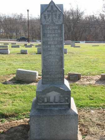 SOLLER, JOHN - Muskingum County, Ohio | JOHN SOLLER - Ohio Gravestone Photos