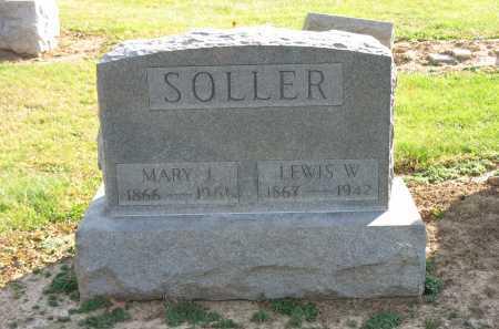 SOLLER, LEWIS W. - Muskingum County, Ohio | LEWIS W. SOLLER - Ohio Gravestone Photos