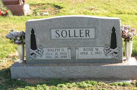 SOLLER, ROSE M. - Muskingum County, Ohio | ROSE M. SOLLER - Ohio Gravestone Photos