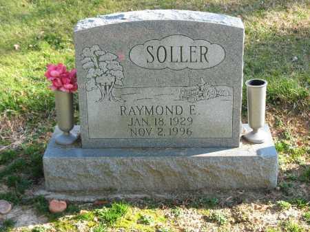 SOLLER, RAYMOND E. - Muskingum County, Ohio | RAYMOND E. SOLLER - Ohio Gravestone Photos