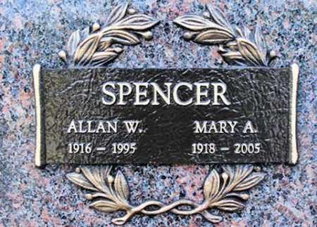 KOSSKY SPENCER, MARY A. - Muskingum County, Ohio | MARY A. KOSSKY SPENCER - Ohio Gravestone Photos