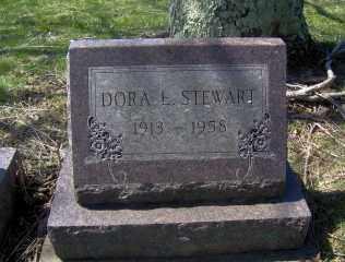 STEWART, DORA - Muskingum County, Ohio | DORA STEWART - Ohio Gravestone Photos