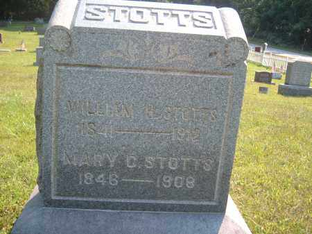 STOTTS, WILLIAMH. - Muskingum County, Ohio   WILLIAMH. STOTTS - Ohio Gravestone Photos