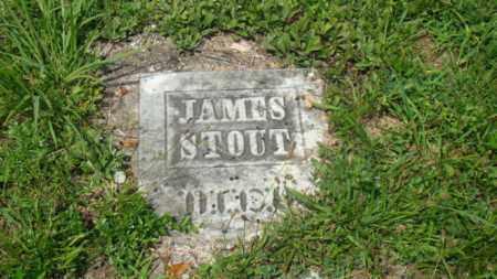 STOUT, JAMES - Muskingum County, Ohio   JAMES STOUT - Ohio Gravestone Photos