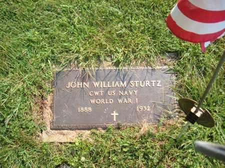STURTZ, JOHN WILLIAM - Muskingum County, Ohio | JOHN WILLIAM STURTZ - Ohio Gravestone Photos