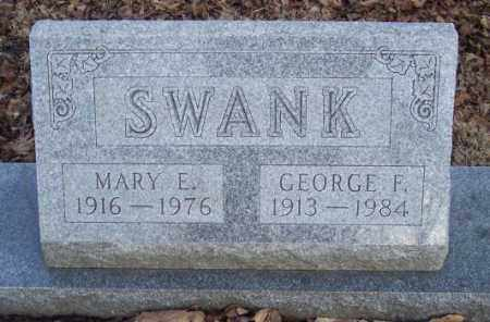 SWANK, GEORGE F. - Muskingum County, Ohio | GEORGE F. SWANK - Ohio Gravestone Photos