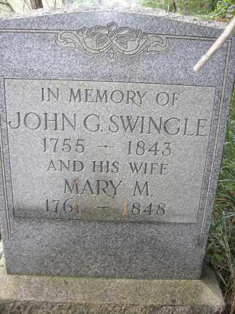 SWINGLE, JOHN G. (JOHANN GEORGE) - Muskingum County, Ohio | JOHN G. (JOHANN GEORGE) SWINGLE - Ohio Gravestone Photos