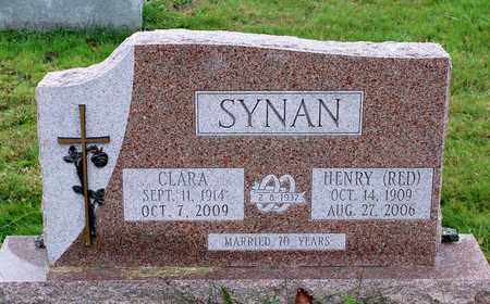 SYNAN, CLARA - Muskingum County, Ohio   CLARA SYNAN - Ohio Gravestone Photos