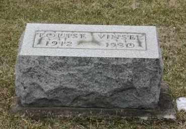 VINSEL, LOUIS E - Muskingum County, Ohio | LOUIS E VINSEL - Ohio Gravestone Photos