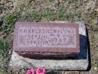 WILSON, CHARLES L - Muskingum County, Ohio | CHARLES L WILSON - Ohio Gravestone Photos