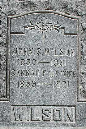 WILSON, JOHN - Muskingum County, Ohio   JOHN WILSON - Ohio Gravestone Photos