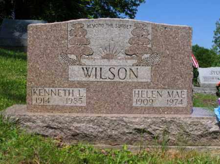 WILSON, HELEN M. - Muskingum County, Ohio | HELEN M. WILSON - Ohio Gravestone Photos
