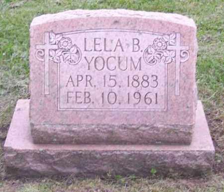 YOCUM, LELA B. - Muskingum County, Ohio | LELA B. YOCUM - Ohio Gravestone Photos