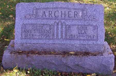 ARCHER, AMY STEVENS - Noble County, Ohio | AMY STEVENS ARCHER - Ohio Gravestone Photos