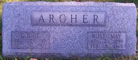ARCHER, ROSE MAY - Noble County, Ohio | ROSE MAY ARCHER - Ohio Gravestone Photos