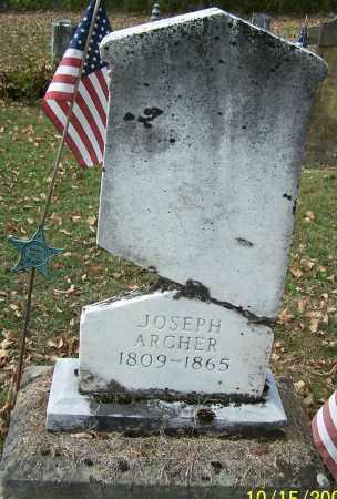 ARCHER, JOSEPH - Noble County, Ohio | JOSEPH ARCHER - Ohio Gravestone Photos