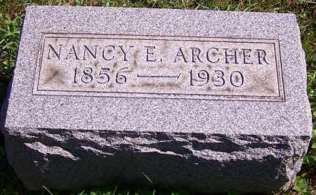 ARCHER, NANCY E. - Noble County, Ohio | NANCY E. ARCHER - Ohio Gravestone Photos