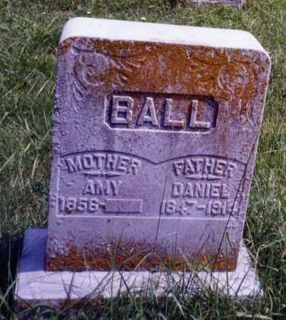 BALL, DANIEL - Noble County, Ohio | DANIEL BALL - Ohio Gravestone Photos