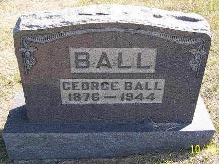 BALL, GEORGE - Noble County, Ohio | GEORGE BALL - Ohio Gravestone Photos