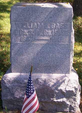 BASS, WILLIAM H. - Noble County, Ohio | WILLIAM H. BASS - Ohio Gravestone Photos