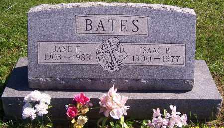 BATES, JANE F. - Noble County, Ohio | JANE F. BATES - Ohio Gravestone Photos