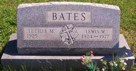 BATES, LEWIS W. - Noble County, Ohio | LEWIS W. BATES - Ohio Gravestone Photos